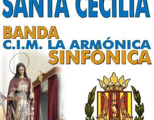 """""""La Armónica"""" de Buñol celebra este sábado el concierto dedicado a Santa Cecilia"""