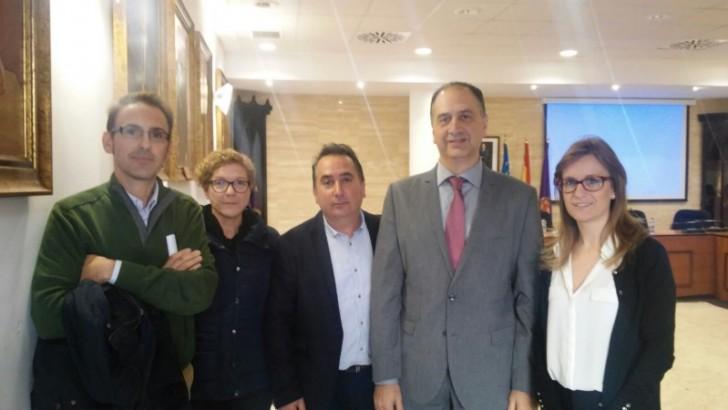 La Alcaldesa de Alborache se reúne con el Subdelegado del Gobierno