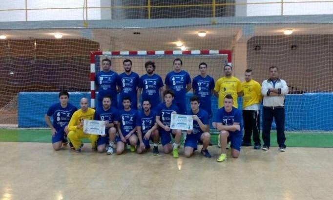 El sénior del Club Balonmano Buñol pierde la imbatibilidad en casa ante el Xàtiva (22-26)