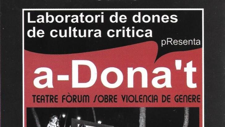 """La obra de teatro """"a-Dona't"""" cierra en Buñol el Mes Contra la Violencia de Género"""