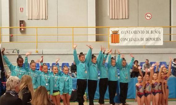 Las imágenes del Torneo Nacional de Gimnasia Rítmica de Buñol