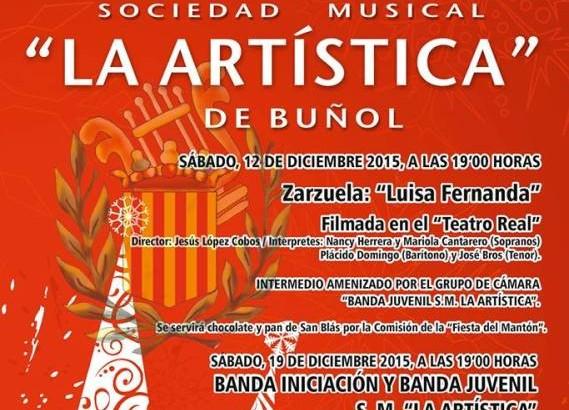 """""""La Artística"""" de Buñol homenajea a Shakespeare en su concierto de Año Nuevo"""