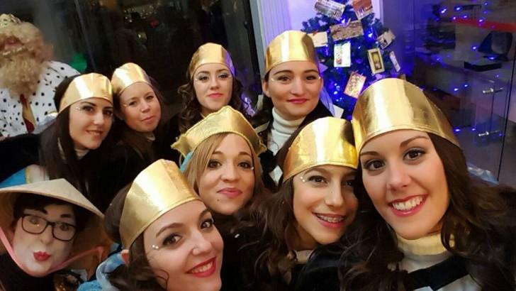 Las imágenes de la Cabalgata de Reyes en Buñol