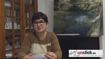 Entrevista en vídeo a Juncal Carrascosa sobre los presupuestos de Buñol