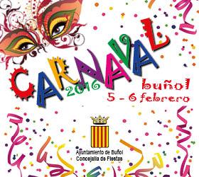Buñol celebra este viernes y sábado su Carnaval