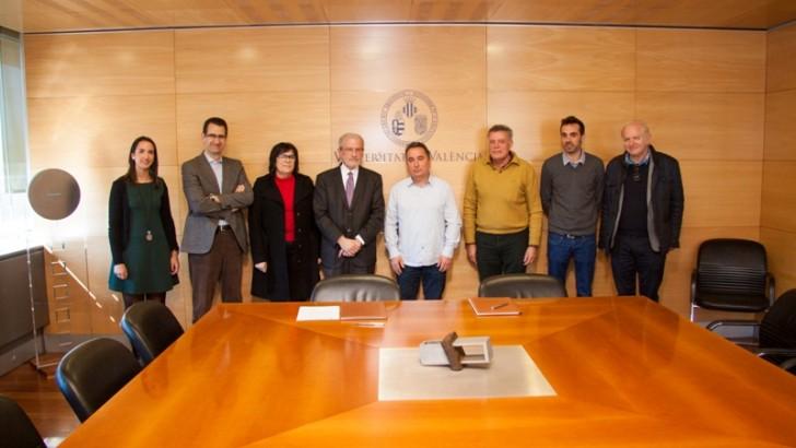 El Ayuntamiento de Yátova firma un convenio de colaboración con la Universidad de Valencia