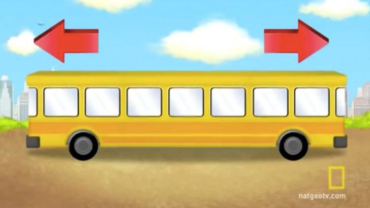 ¿Hacia dónde va el autobús?