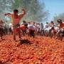 """Chile celebra una versión reducida de """"La Tomatina"""""""