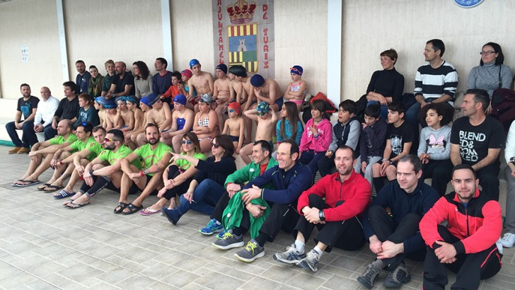 Turís acerca a los niños y niñas el atletismo y la natación en las Olimpiadas de la Mancomunidad Atletismo