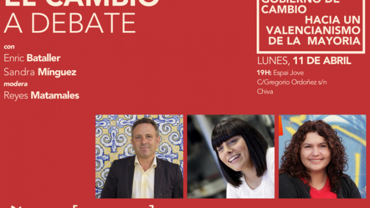 """Iniciativa Compromis Comarcal debate sobre """"El Cambio Político"""" en Chiva"""