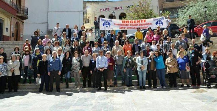 Yátova se suma a la lucha por la Sanidad Pública