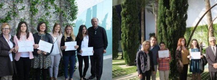 Los 7 alumnos de Buñol recogen los premios al Rendimiento Académico