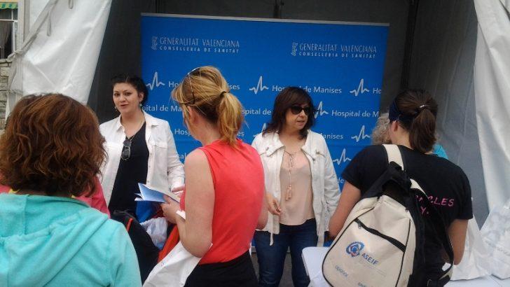 Las imágenes de la Feria de la Salud en Buñol