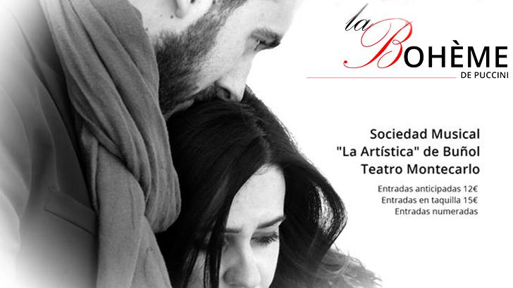 """""""La Bohème"""" de Puccini en el Teatro Montecarlo de Buñol"""