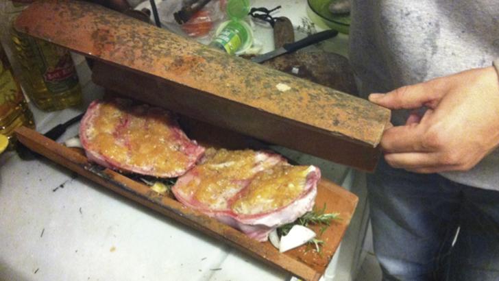 Cocinar a la teja