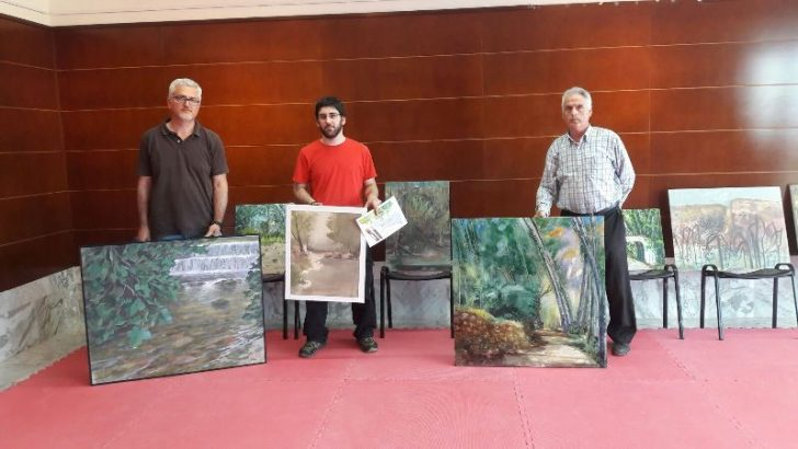 Héctor Dols gana el I Concurso de Pintura Rápida de Alborache