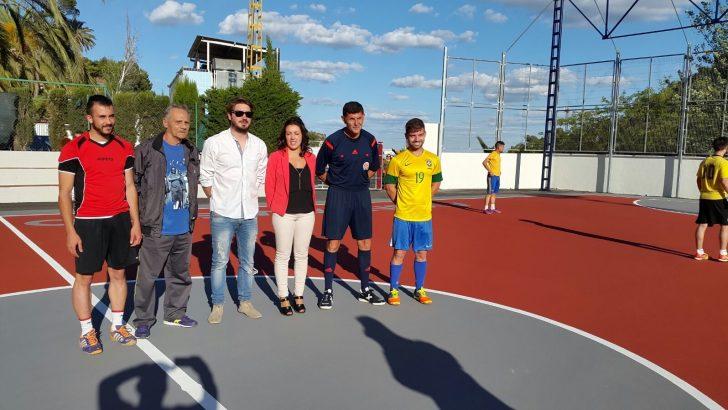 Las imágenes de la reinauguración del Polideportivo Municipal de Buñol