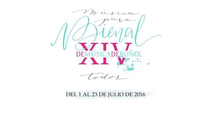 La XIV Bienal de Música de Buñol presenta su programación en la Feria del Comercio