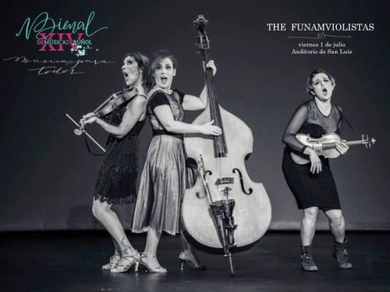 """""""The Funamviolistas"""" abrirán la XIV Bienal de Música de Buñol"""