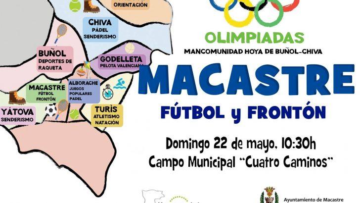 Las Olimpiadas Comarcales llegan este fin de semana a Macastre