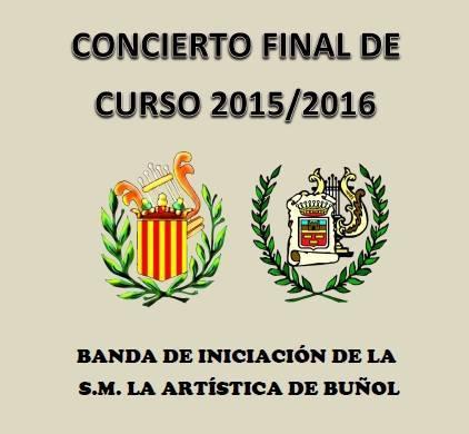 """La Banda de Iniciación de """"La Artística"""" de Buñol ofrece un concierto de fin de curso en Yátova"""