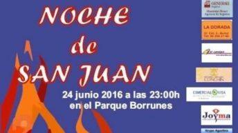 Buñol celebra este viernes la Noche de San Juan en el Parque de Borrunes