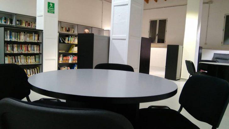 Las imágenes de la nueva Biblioteca Municipal de Yátova