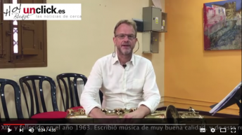 Vídeo-entrevista al saxofonista Arno Bornkamp