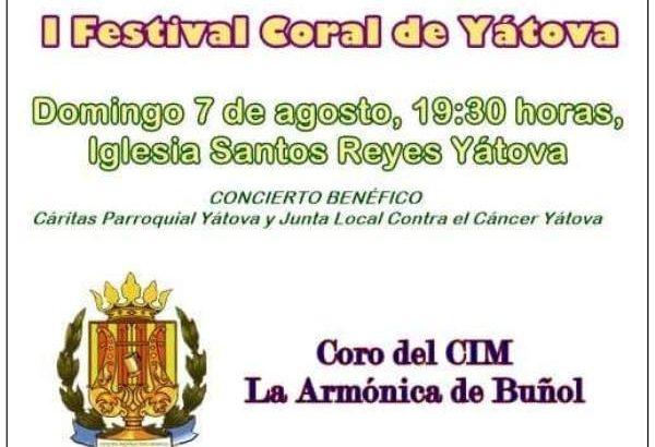 """El Coro de """"La Armónica"""" participa en el I Ferstival Coral de Yátova"""