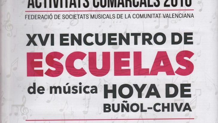 El XVI Encuentro de Escuelas de Música llega este sábado a Cheste