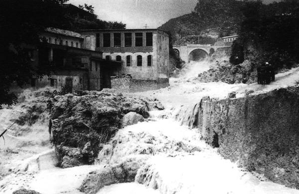 Las crecidas del Río Buñol