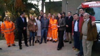 La Consellera de Sanidad, Carmen Montón, inaugura oficialmente la base SAMU de Buñol
