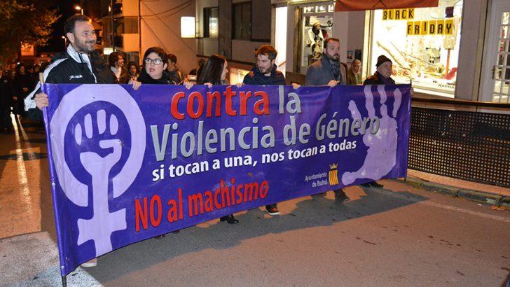 Buñol marcha esta tarde contra la violencia de género