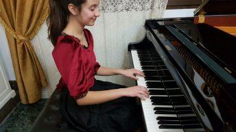 La buñolense Cristina Casero ofrecerá un recital de piano este domingo en el Ateneo de Valencia