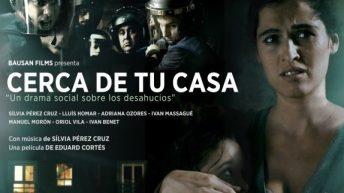 """La PAHC de La Hoya organiza la proyección de la película """"Cerca de tu casa"""" en Buñol"""