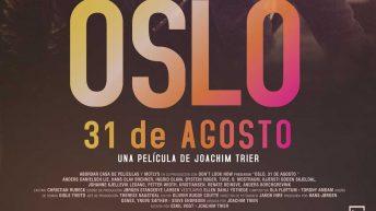 """La película """"Oslo, 31 de agosto"""" este viernes en la Biblioteca Municipal de Buñol"""