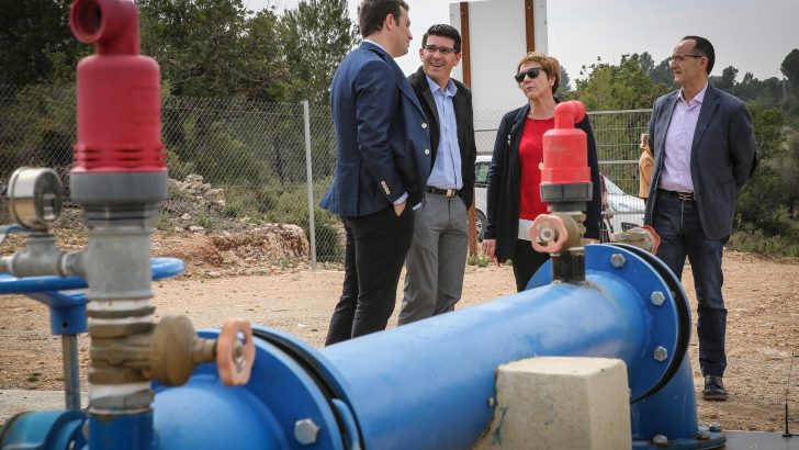 Diputación invierte más de 250.000 euros en Alborache para garantizar el abastecimiento de agua a los vecinos