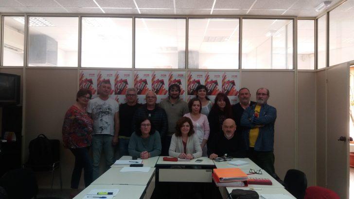 Se constituye la Comisión Ejecutiva de CCOO de La Hoya de Buñol