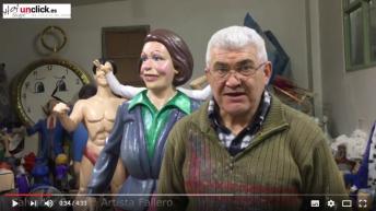 Vídeo-entrevista al artista fallero Salvador Espert