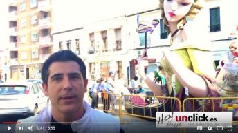 Vídeo-entrevista al artista fallero Antonio López