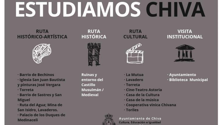 """Nace """"Estudiamos Chiva"""" para dar a conocer a los escolares el patrimonio histórico y cultural del municipio"""