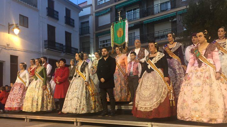 Las imágenes de la crida y la inauguración la exposición del ninot en Buñol