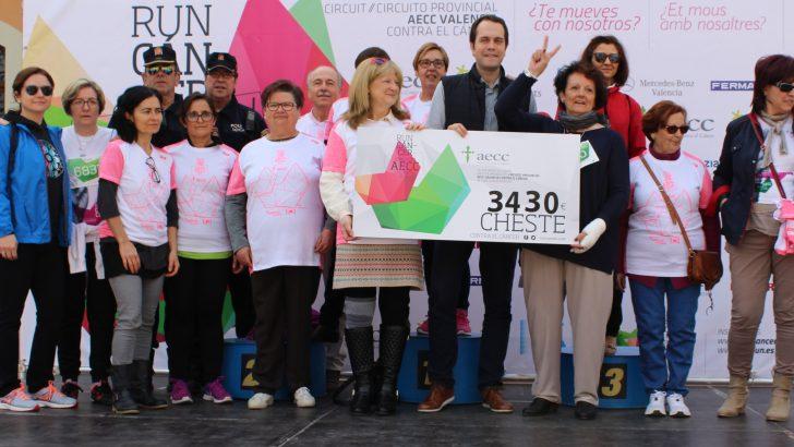 Cheste se supera en la recaudación por la lucha contra el cáncer