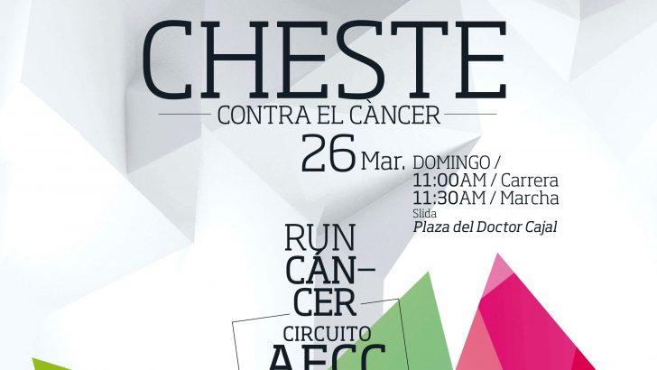 """Cheste celebra este domingo la carrera y la marcha contra el Cáncer """"RUNCÁNCER 2017"""""""