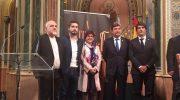 """La Artística y La Armónica de Buñol presentan junto a las sociedades de Llíria y Cullera """"A tres bandes"""""""