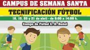 Esta Semana Santa Campus de Tecnificación de Fútbol en Buñol