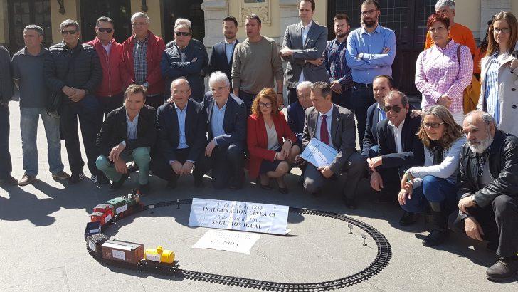 José Morell participa del acto de reivindicación de más inversiones para las Cercanías C3