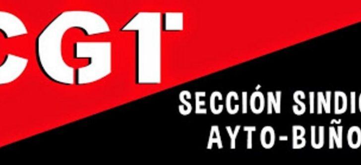 """CGT y SPPLB denuncian la situación """"insostenible"""" de las trabajadoras y trabajadores del Ayuntamiento de Buñol"""