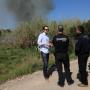 Cheste inicia las quemas controladas para combatir la sobrepoblación de conejos