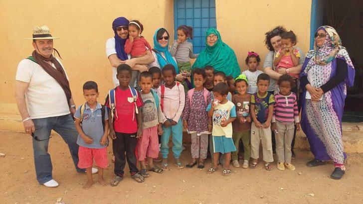 Las imágenes de la visita de Carles Xerri a los campamentos saharauis de Tindouf